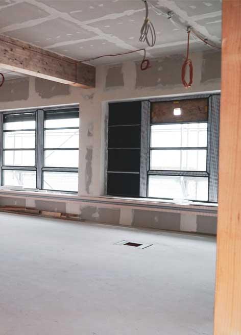 Modernen Innenausbau im Neubau