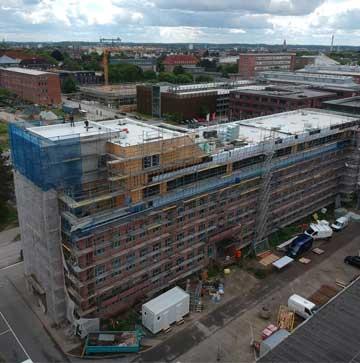 Luftaufnahmen Bauunternehmen Kubau GmbH Einsteineins Gebäude