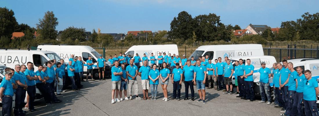 Gruppenfoto der Kubau GmbH