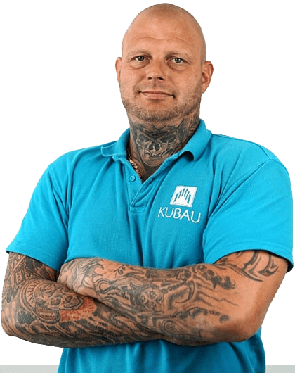 Mitarbeiterfoto von Oliver Klopp dem Bauleiter der Kubau GmbH