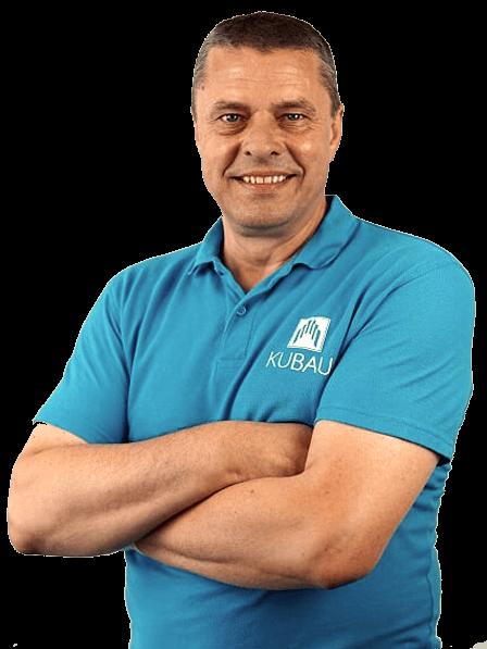Ein Bild von Edis Kulikas dem Geschäftsführer der Kubau GmbH