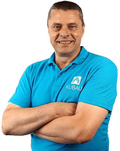 Profilbild von Edis Kulikas dem Geschäftsführer der Kubau GmbH