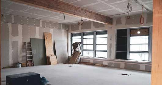 Trockenbau Innenaufnahmen von der Kubau GmbH